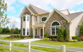 55-community bucks county pa villas of newtown cherry model exterior